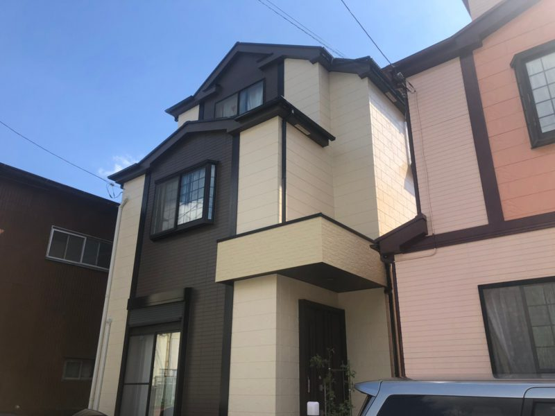 藤沢市 T様邸 外壁・屋根・付帯部塗装・バルコニー防水工事